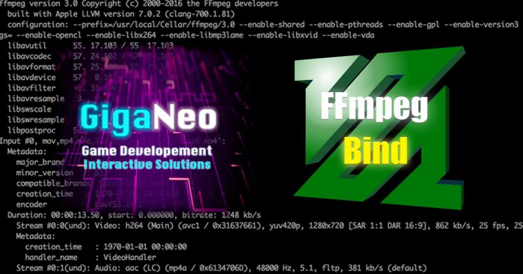 FFmpeg Unity Bind at Unity 3d Asset Store
